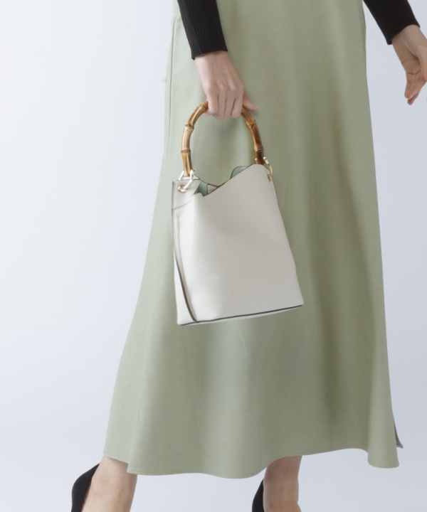 【Spring Collection 2021掲載商品】アシメバンブーショルダーBAG