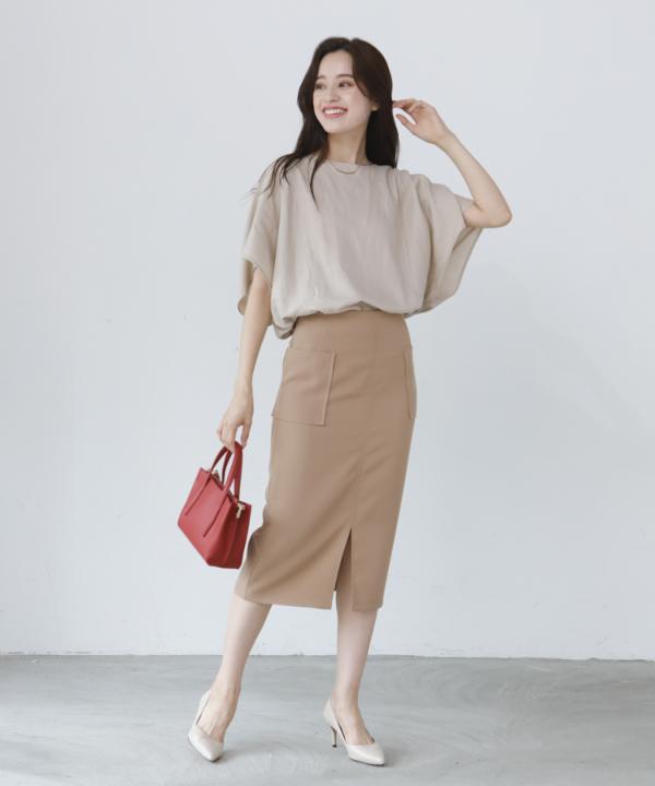 ダブルポケットタイトスカート