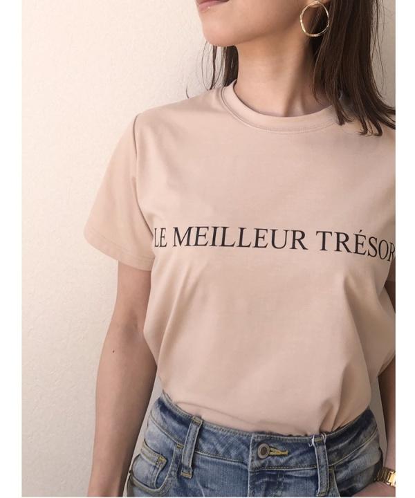 【Spring Collection 2021掲載商品】ロゴビッグTシャツ